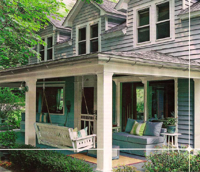 Attractive Porch House Design Part 23