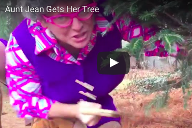 Aunt Jean Gets Her Tree